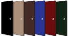 Door Colors: Black, Camel, Brown, Blue, Red, Green