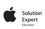 Apple Solution Expert Logo
